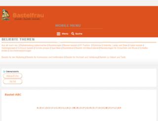 bastelfrau.com screenshot