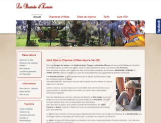 bastide-einesi.com screenshot