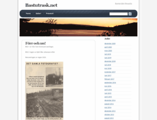 bastutrask.net screenshot