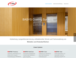 basys-coating.com screenshot