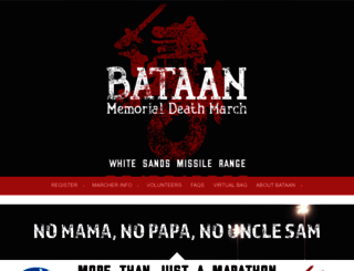 bataanmarch.com screenshot