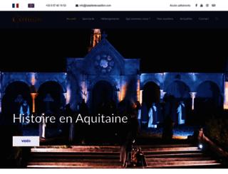 batailledecastillon.com screenshot