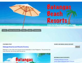 batangasbeachresorts.com screenshot