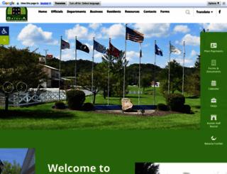 bataviavillage.org screenshot