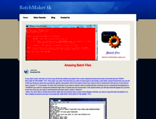batchmaker.weebly.com screenshot