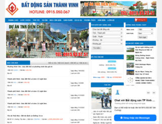 batdongsanthanhvinh.com screenshot