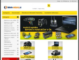 baterie-nabijecky.cz screenshot