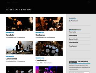 bateristasybaterias.blogspot.com.ar screenshot