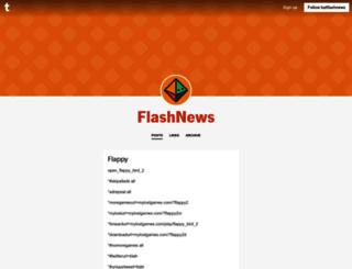 batflashnews.tumblr.com screenshot