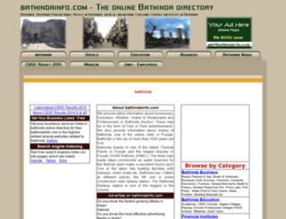 bathindainfo.com screenshot