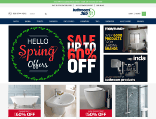 bathrooms365.com screenshot