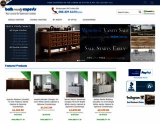 bathvanityexperts.com screenshot