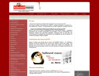 batimentmaroc.com screenshot