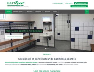 batisport.fr screenshot