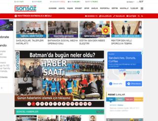 batmansonsoz.com screenshot