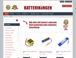 batterikungen.se screenshot