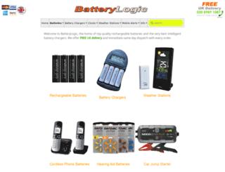 batterylogic.co.uk screenshot