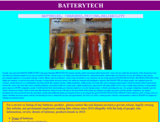 batterytech.in screenshot