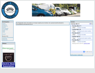 batteryvehiclesociety.org.uk screenshot
