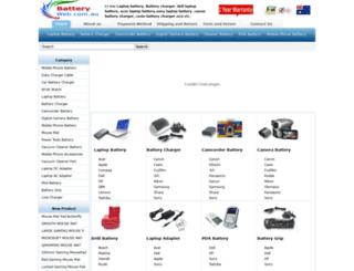 batteryweb.com.au screenshot