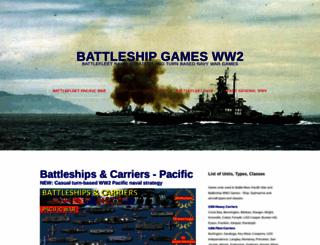 battle-fleet.com screenshot