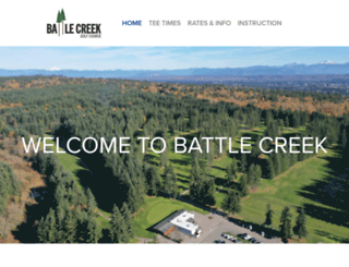 battlecreekgolfwa.com screenshot