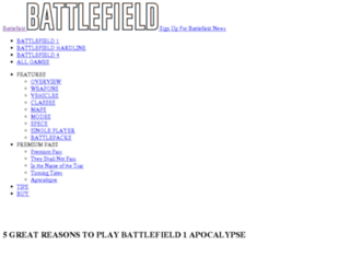 battlefield3.com screenshot