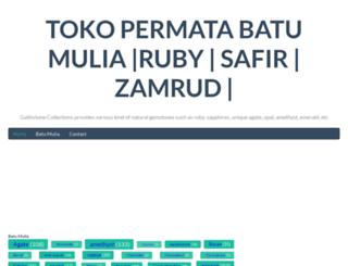 batumuliacrystal.com screenshot