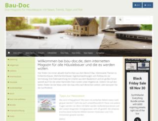bau-doc.de screenshot