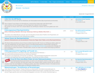 bauchspeicheldruese-pankreas-forum.de screenshot