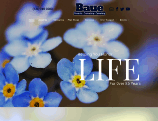 baue.com screenshot
