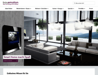 bauemotion.de screenshot