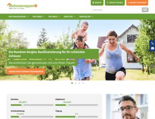 baufinanzierungspool24.de screenshot