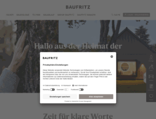 baufritz.com screenshot