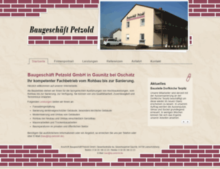 baugeschaeft-petzold-gmbh.de screenshot