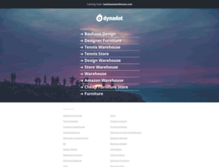 bauhauswarehouse.com screenshot