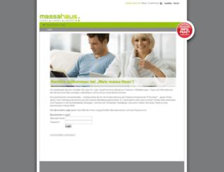 Access bauherren.massa-haus.de. Bauherren-Login