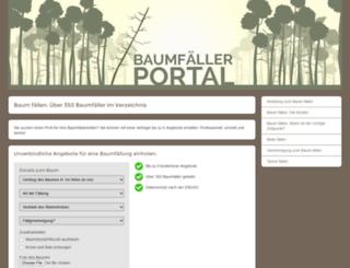 baum-faellen.net screenshot