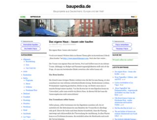 baupedia.de screenshot