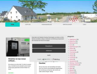 bautagebuch.online-wendt.de screenshot