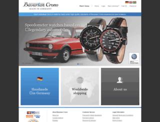 bavarian-crono.de screenshot