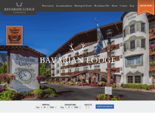 bavarianlodge.com screenshot