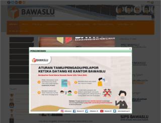 bawaslu.go.id screenshot