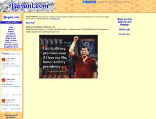 bayani.com screenshot
