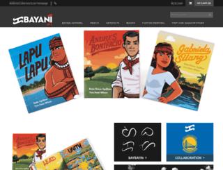 bayaniart.com screenshot