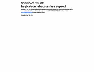 bayburtsonhaber.com screenshot