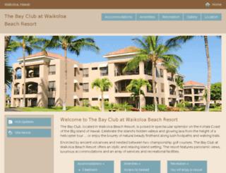 bayclub.hgvc.com screenshot