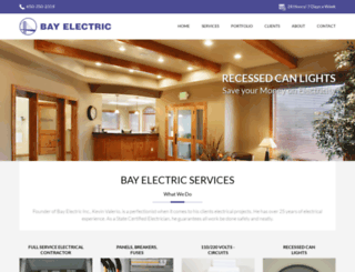 bayelectricsanmateo.com screenshot