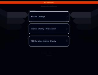 bayenahsalaf.com screenshot