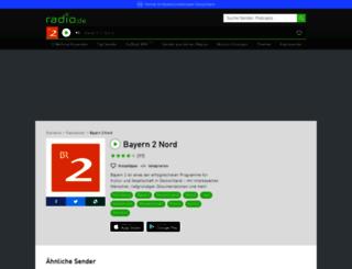 bayern2.radio.de screenshot